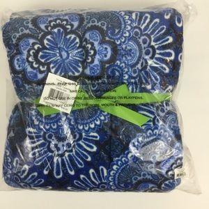 Vera Bradley Throw Blanket Cascade Tapestry NEW